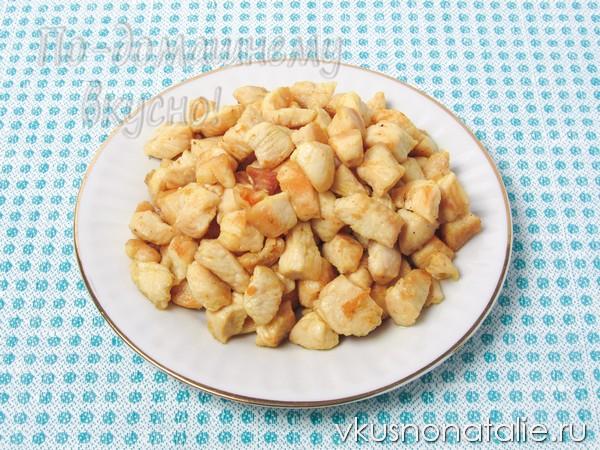 салат цезарь классический с курицей и сухариками как приготовить