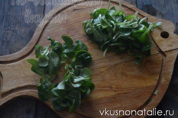 салат с корном и брынзой