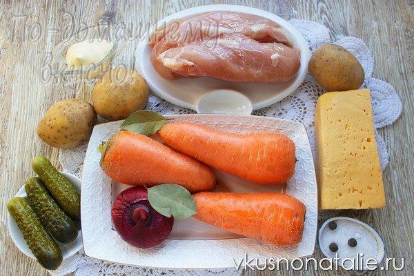 салат апельсиновая долька пошаговый рецепт