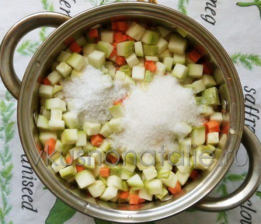 кабачки с майонезом на зиму рецепт