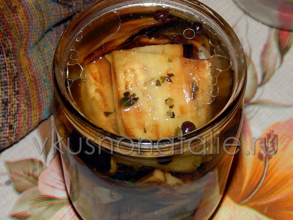 баклажаны жареные на зиму пошаговый рецепт