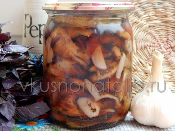 жареные баклажаны на зиму рецепт