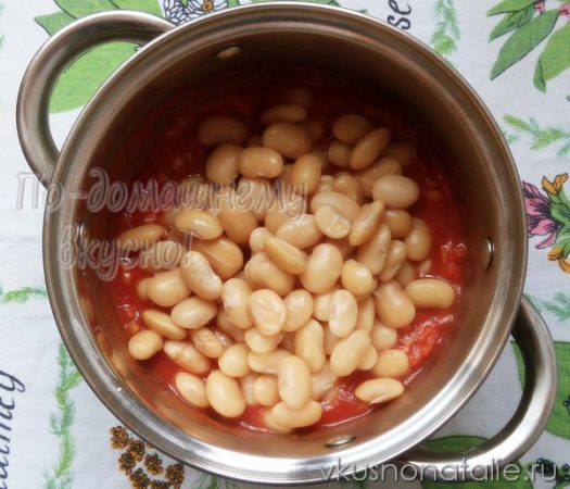 фасоль в томатном соусе на зиму