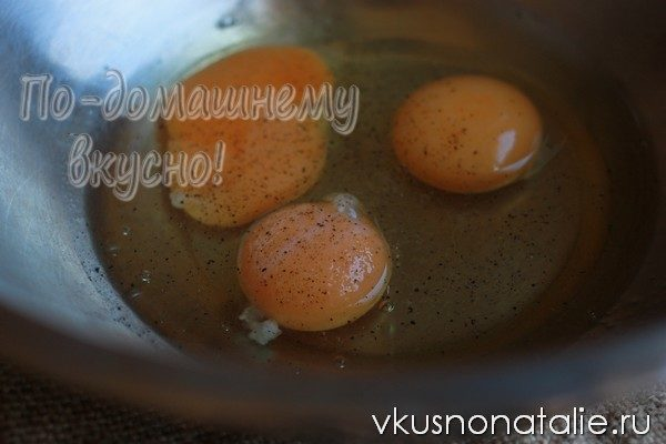 куриный суп с омлетом рецепт