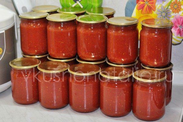 домашний томат на зиму