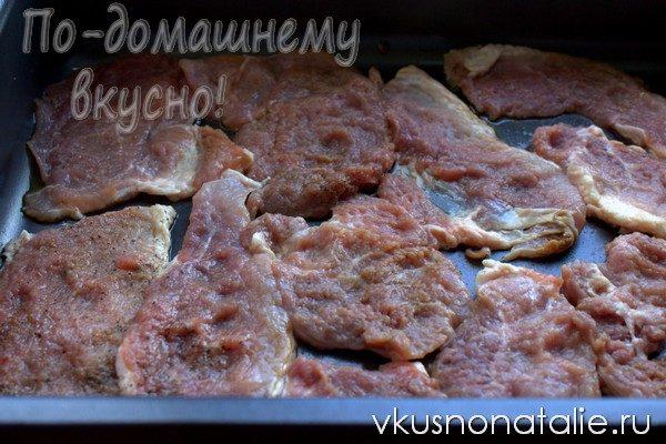 отбивные из свинины с сыром рецепт