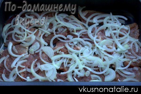 свиные отбивные с сыром и картофелем пошаговый рецепт с фото