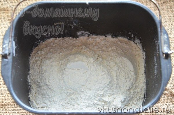 хлеб с цедрой и маком рецепт