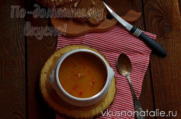суп из куриных желудков с гречкой
