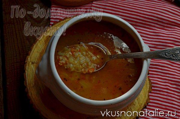 суп из желудков